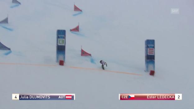 Video «Snowboard: WM Kreischberg, Final Parallel-Slalom Frauen» abspielen