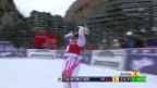 Video «Ski: Riesenslalom Frauen Val d'Isère, 2. Lauf von Tina Weirather» abspielen