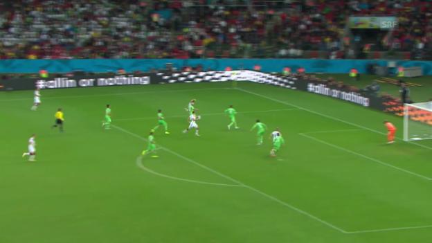 Video «FIFA WM 2014: Alle 18 Tore von Deutschland» abspielen