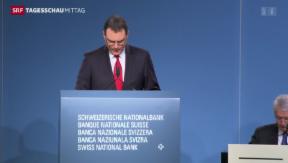 Video «SNB verändert Geldpolitik nicht» abspielen
