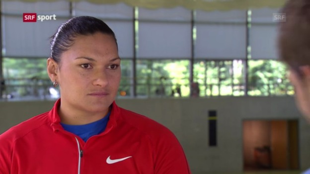 Video «LA: Valerie Adams in der «sportlounge»» abspielen