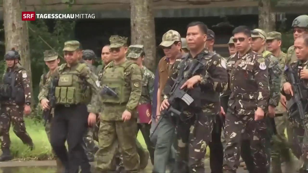Marawi aus den Fängen des IS befreit