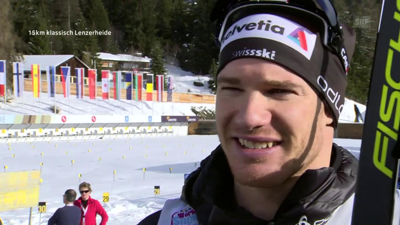 Cologna: «Der 1. Sieg in der Schweiz ist schön»
