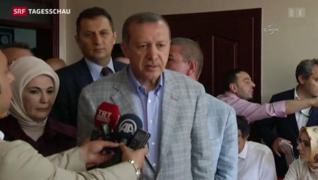 Video «Erdogan wird Präsident der Türkei» abspielen