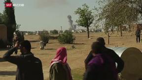 Video «Entscheidungsschlacht um Kobane» abspielen