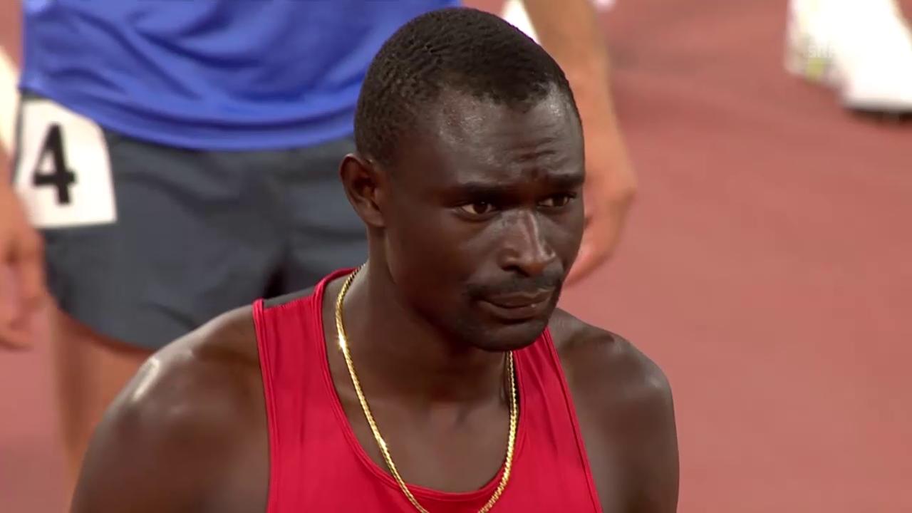 Leichathletik-WM in Peking: Rudisha gewinnt Gold über 800 Meter