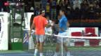 Video «Tennis: Federer holt 7. Titel in Dubai» abspielen