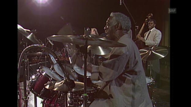 Video «Art Blakey und die «New Jazz Messengers» im Kursaal Bern, 1989.» abspielen