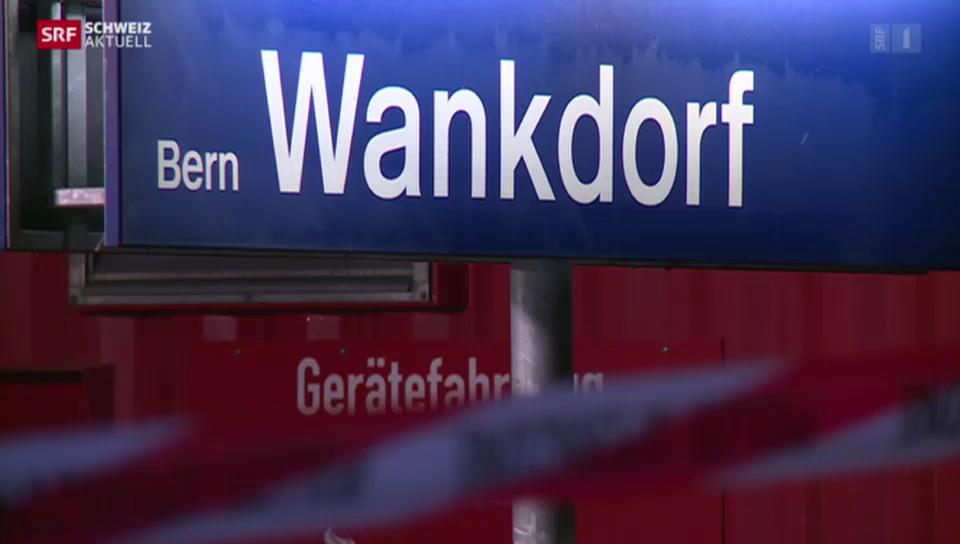 Schwerer Unfall am Bahnhof Bern Wankdorf