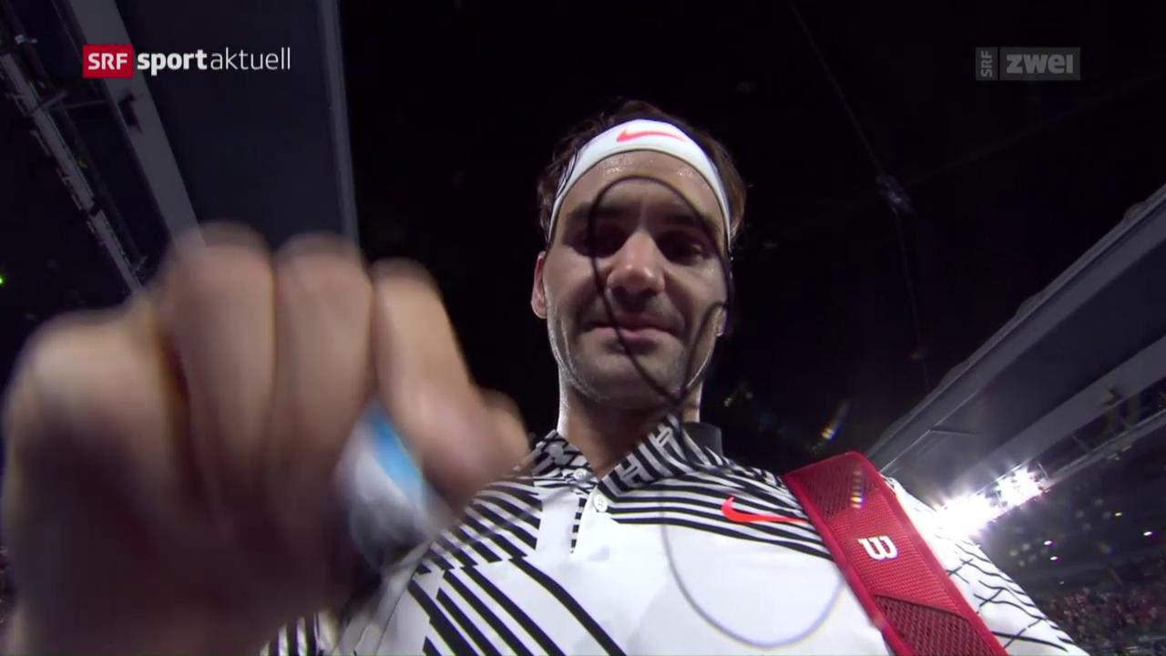 Roger Federer startet mit Viersatzsieg in die Australian Open