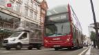 Video «London kämpft mit höherer Verkehrsmaut gegen Luftverschmutzung» abspielen