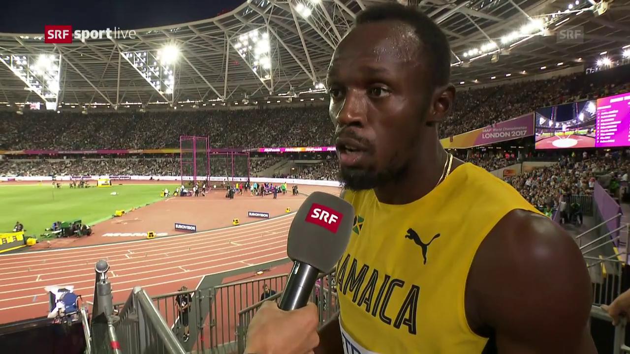 Bolt: «Solange ich gewinne, bin ich glücklich»