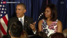 Video «Die Obamas auf Kuba» abspielen