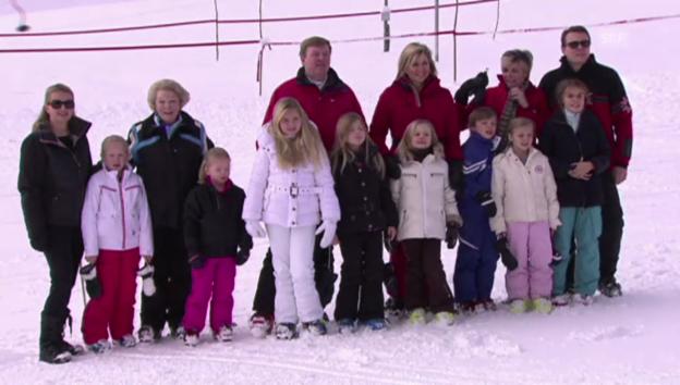 Video «Niederländische Königsfamilie in Lech (unkomm.)» abspielen