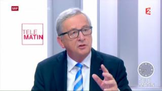 Video «Klare Worte von Juncker für die Türkei» abspielen