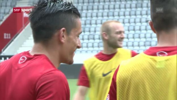 Video «Fussball: Thun und Zürich vor den EL-Quali-Spielen («sportaktuell»)» abspielen