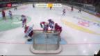 Video «Lausanne gewinnt den Spitzenkampf gegen Kloten» abspielen
