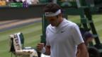 Video «Federer - Zverev: Die Live-Highlights» abspielen