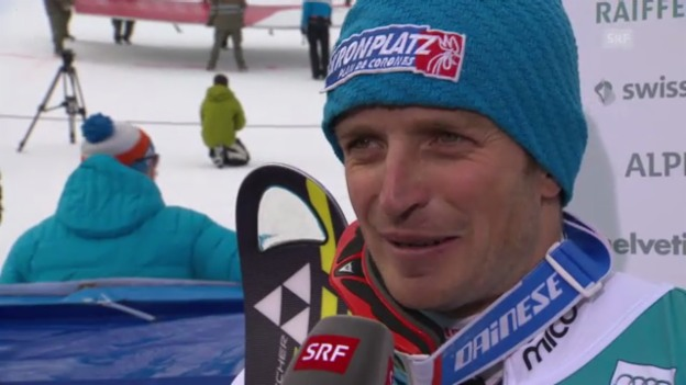 Video «Ski: Interview Manfred Mölgg («sportlive»)» abspielen