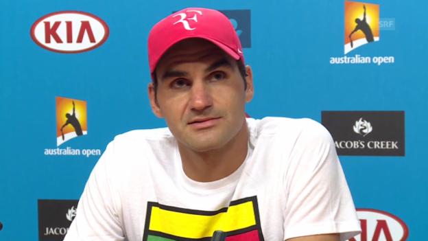 Video «Roger Federer äussert sich zu den Manipulations-Vorwürfen (engl.)» abspielen