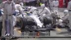 Video «Die Williams-Crew schläft bei Massas Boxenstopp» abspielen