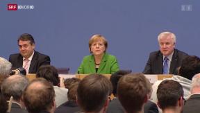 Video «Koalition unterzeichnet» abspielen