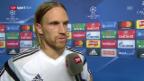Video «Lang: «Sehr schwer gegen eine solche Mannschaft»» abspielen