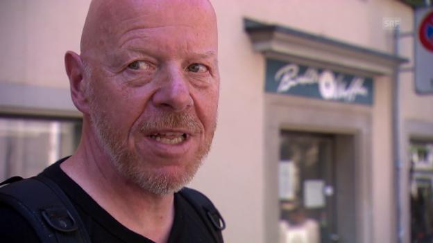 Video «Bankräuber ausser Dienst / Theke: Prof. Marc Graf / Europa ausser Betrieb / Schlepper ausser Kontrolle» abspielen
