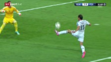 Video «Fussball: Champions League, Gruppenphase, Live-Highlights Real Madrid - FC Basel» abspielen