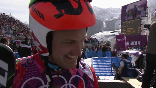 Video «Skicross: Interview mit Alex Fiva» abspielen