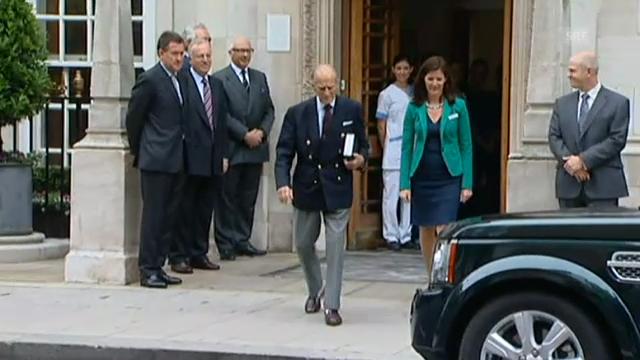 Prinz Philip verlässt Spital