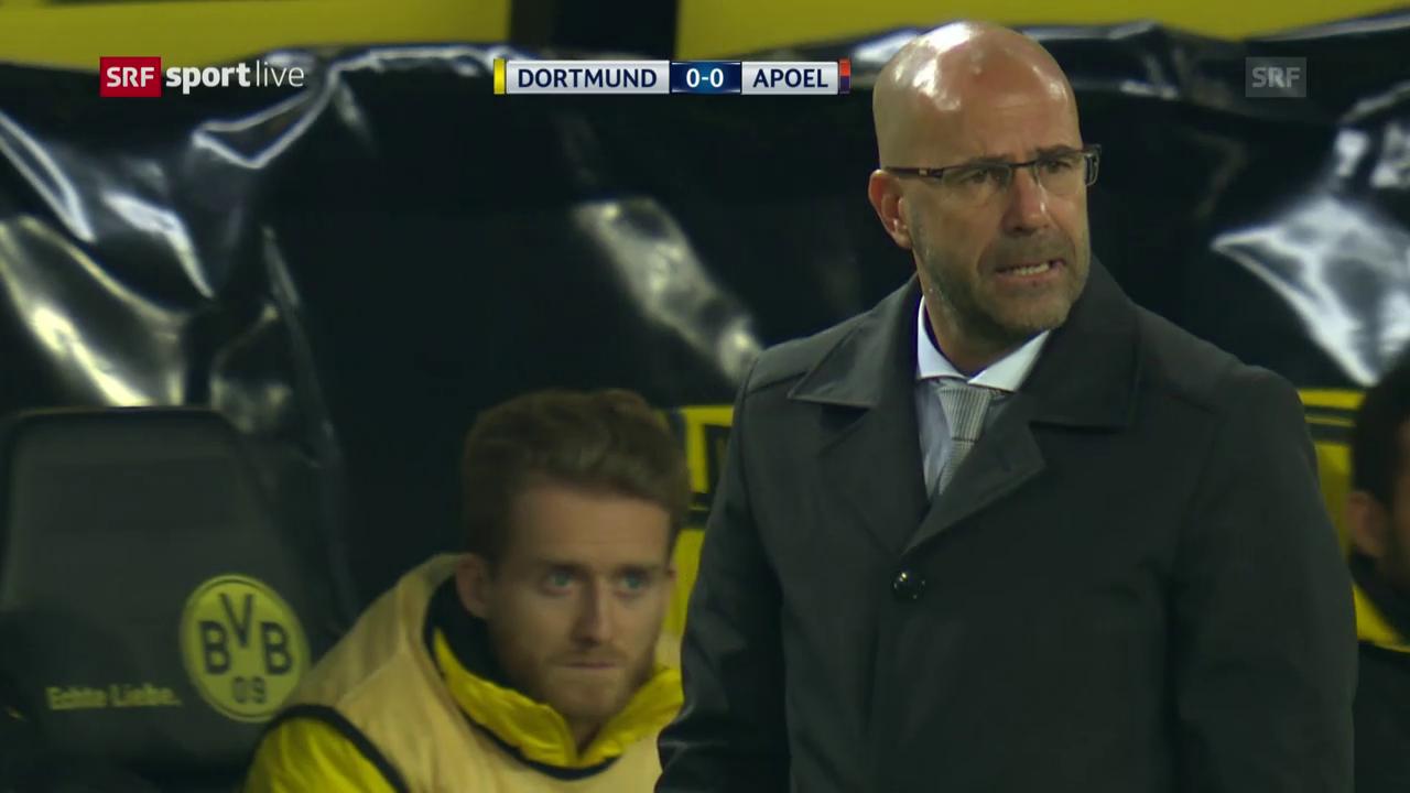 Dortmund enttäuscht auch im Rückspiel gegen APOEL