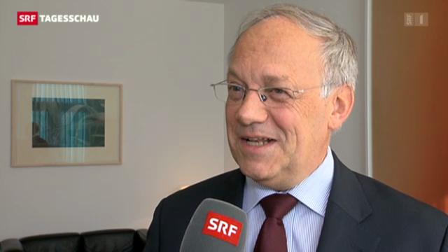 Bildungsminister Schneider-Ammann zur Forschungsmilliarde