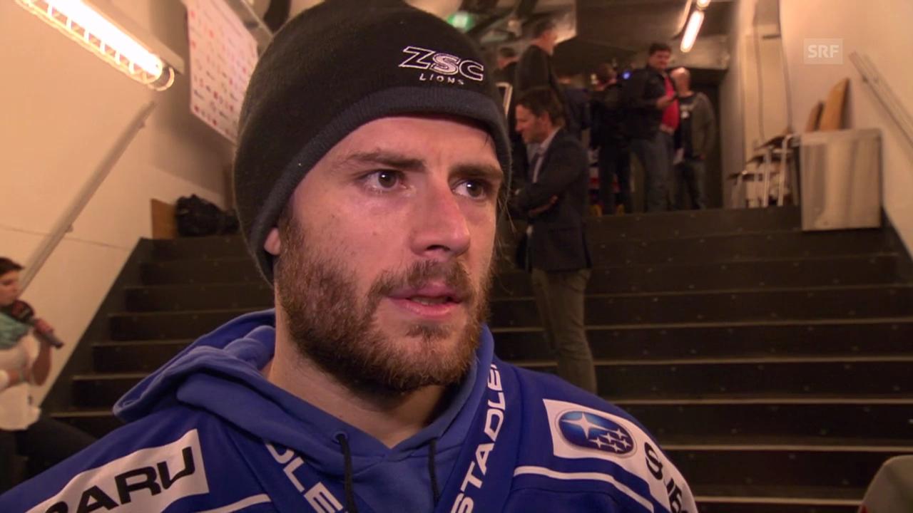 Eishockey: Severin Blindenbacher im Interview