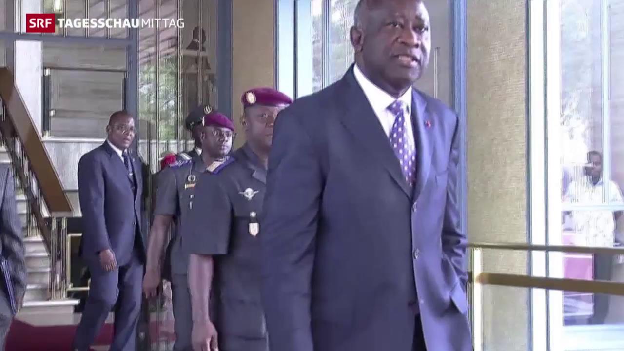 Prozessbeginn gegen Ivorer Laurent Gbagbo