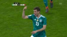 Link öffnet eine Lightbox. Video Kein Sieger zwischen Deutschland und Spanien abspielen