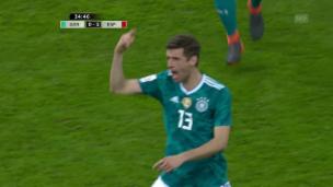 Video «Kein Sieger zwischen Deutschland und Spanien» abspielen