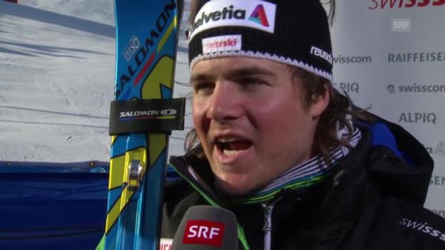 Video «Ski: Interview Marc Berthod («sportlive»)» abspielen