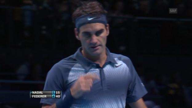 Video «Starker Punkt von Roger Federer» abspielen