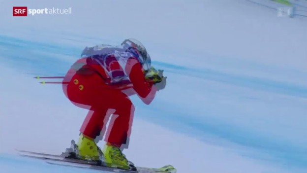 Video «Skicross: Weltcup in Innichen, Frauen» abspielen