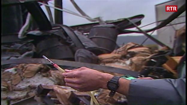 Laschar ir video «Contaminaziun da l'aria suenter lincendi»