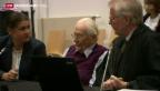 Video «Urteil für ehemaligen SS-Schergen» abspielen