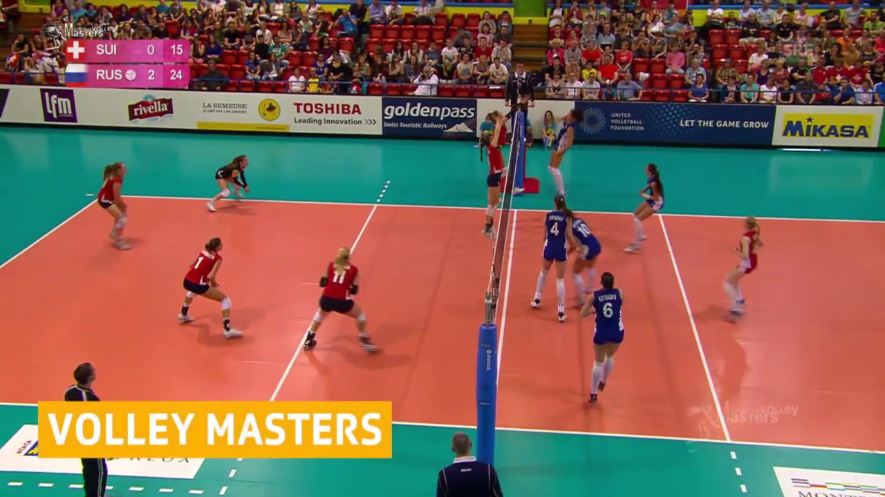 Volleyball: Schweiz - Russland