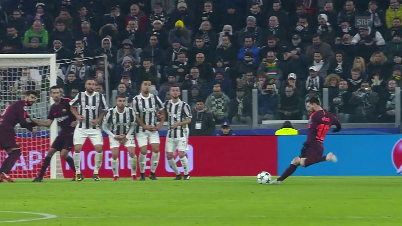 Keine Tore bei Juventus - Barcelona