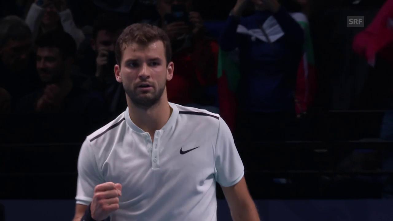 Dimitrov folgt Goffin in den Final