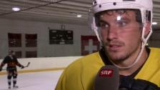 Video «Eishockey: Josi über seine Karriereziele» abspielen