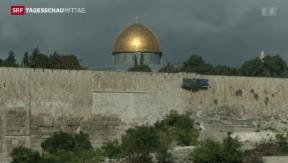 Video «Tempelberg in Jerusalem wieder geöffnet» abspielen