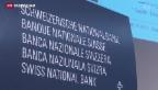 Video «UBS-Rettung beschert SNB Gewinn von über 5 Milliarden Dollar» abspielen