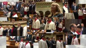Video «Strategische Parlamentarier-Rücktritte» abspielen