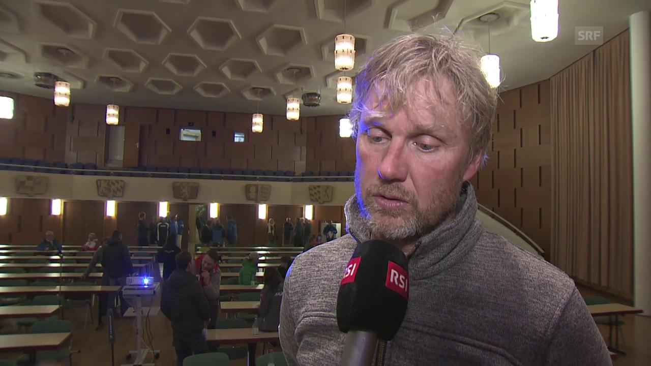 Skaardal: «Das Problem war der viele Niederschlag»